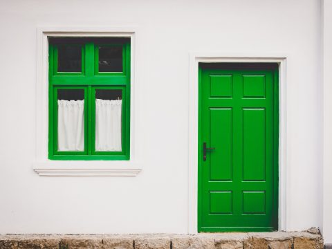 Drzwi z ościeżnicą